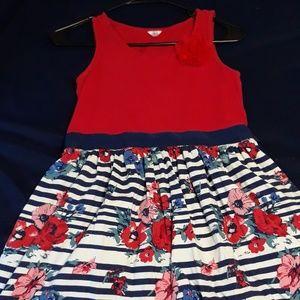 Red Rose dress for kids